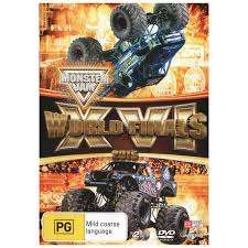 monster jam 2015 trucks monster jam 16 2015 world finals dvd big w