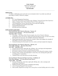 Hotel Front Desk Resume Examples Resume