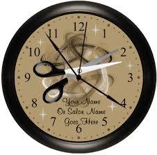 Hair Salon Interiors Best Accessories Personalized Beauty Shop Hairdresser Salon Clock 19 99 Salons