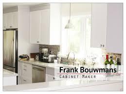 frank bouwmans cabinet maker our process