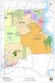 Zip Code Map Nc by Green Cove Springs Florida