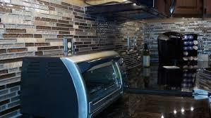 Mosaic Tile Backsplash Decorating Home Interior - Mosaic backsplash tile