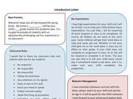 welcome letter by sheeda16 teaching resources tes