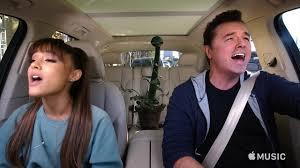 carpool karaoke the series u2014 ariana grande seth macfarlane