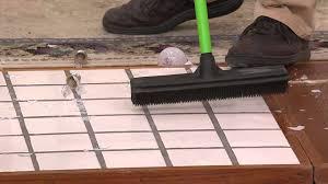 Laminate Floor Broom Don Aslett U0027s Set Of 2 Indoor Outdoor Telescoping Rubber Brooms