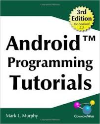 tutorial android pdf android programming tutorials 3rd edition pdf download e book it
