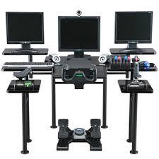 bureau pour gamer roccaforte le bureau ultime du gamer gamerstuff fr