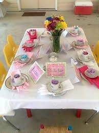 tea party table and chairs little girls tea party idea table set up for my 4 year little