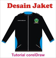 tutorial coreldraw desain jaket youtube