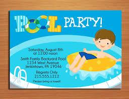 Free Printable Birthday Invitation Cards For Kids Free Printable Pool Party Invitations For Kids Progetti Da