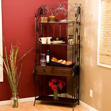 accessories beautiful bakers racks kitchen shelves for heavy
