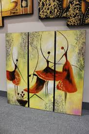 mountain view smoky mountains gallery wrapped stretched canvas ballet