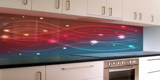 kitchen backsplash tile printing led backsplash panels back