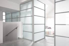 plexiglass walls clean low maintenance lets light in provides privacy requires no paint or trim visual interest from dividers