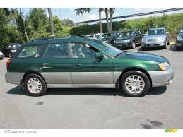 teal subaru outback timberline green 2002 subaru outback 3 0 l l bean edition wagon