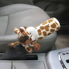 Auto Upholstery Supplies Wholesale Giraffe Emergency Handbrake Cover Auto Upholstery Decoration