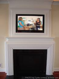 Gas Fireplace Mantle by Gas Fireplace With Tv Above Corner Fireplace Mantels With Tv