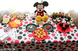 Mickey Mouse Ideas Mickey Mouse Party Food Ideas Mickey Mouse