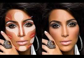 Makeup Contour contouring and highlighting makeup