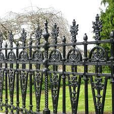 cast iron ornamental fence parts ornamental cast iron fence