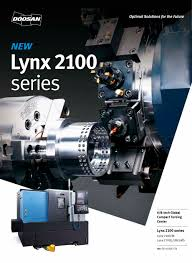lynx 2100 series doosan machine tools pdf catalogue