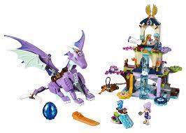 dragons for children lego elves 41178 the sanctuary building kit
