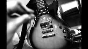Phish Bathtub Gin Chords by C Mixolydian Guitar Backing Track Youtube