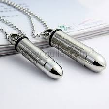 custom engraved necklaces custom engraved matching bullets pair couples necklaces for two