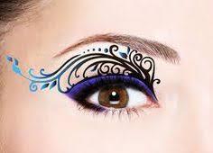 lot of 4 pairs temporary eye transfer eyeshadow stickers