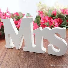 d corations mariage mr mrs decorative letters decoration mariage