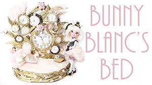 how to make bunny blanc u0027s bed ever after high youtube