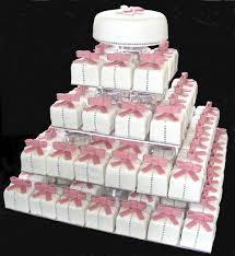 mini wedding cakes mini square wedding cakes
