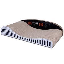 Cat Scratchers Cardboard Cat Scratching Cardboard Lounge Large Piano Shape Scratcher Board