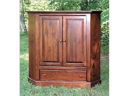 2 Door Tv Cabinet Southern Craftsmen S Guild Home Entertainment Two Door Corner Tv