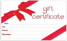 gift certificate printing free gift certificate template customize online and print at home