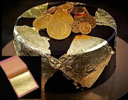 where to buy edible gold leaf edible gold leaf sheets m size 24 karat 3 15 x 3 15 genuine gold