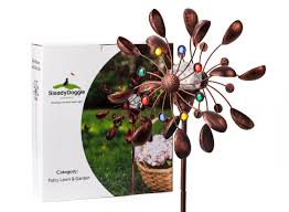 wind spinners with led lights solar wind spinner new 75in jewel cup multi color seasonal led
