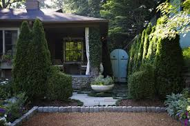 Evergreen Landscaping Ideas Evergreen Landscape Ideas Landscape Traditional With Stacked Stone