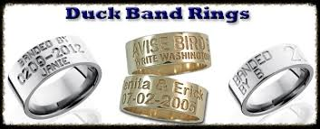 duck band wedding rings rlwood