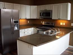 What Color Goes With Maple Cabinets by Kitchen Gray Countertops With Brown Cabinets Dark Gray