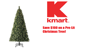 kmart save 100 on a smith pre lit tree