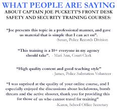 Security Front Desk 2 Front Desk Safety U2014 Code 4 Public Safety Education Association Inc