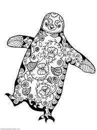 Penguin Doodle Coloring Pages 1 1 1 1 Penquin Coloring Pages