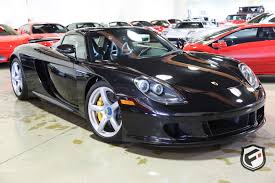 2005 porsche carrera gt fusion luxury motors