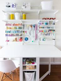 new home office and craft room reveal room craft and organizations