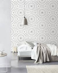 Wallpaper Ideas For Bedroom 31 Wallpaper Accent Walls That Are Worth Pinning Digsdigs
