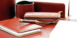 parure de bureau parure de bureau en cuir parure de bureau cuir ligne rive gauche