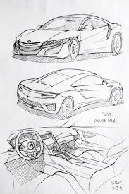 lamborghini veneno sketch car drawing 151228 2017 acura nsx prisma on paper kim j h
