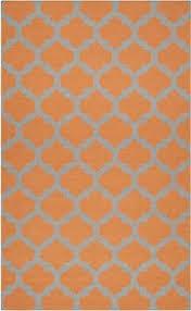 Grey And Orange Area Rug Porcello Light Grey Orange 5 Ft 1 In X 5 Ft 1 In Square Area