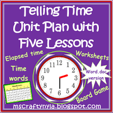 nyla u0027s crafty teaching teaching about telling the time